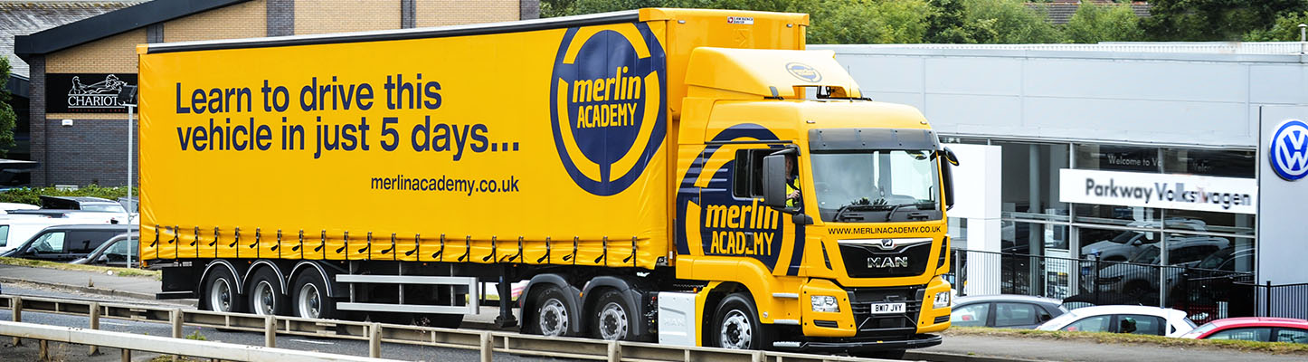 Merlin Academy LGV and CPC driver training